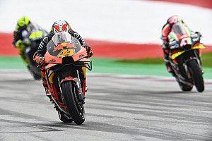 Así fue la espectacular carrera de MotoGP del GP de Austria