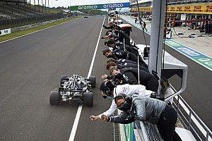 Mercedes aún no ve claro que el W11 no vaya a sufrir con calor