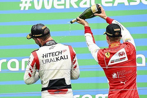 Hungría F2: Ghiotto aguanta la carga de Ilott para ganar