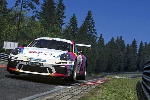 """Porsche Esports Carrera Cup Italia: Santoro """"vola"""" sulla Nordschleife e riapre la sfida"""