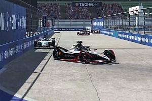 LIVE: La Formule E virtuelle sur le circuit de New York