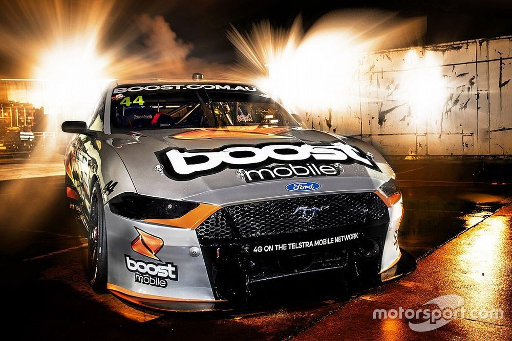 Courtney's Boost Mustang livery revealed