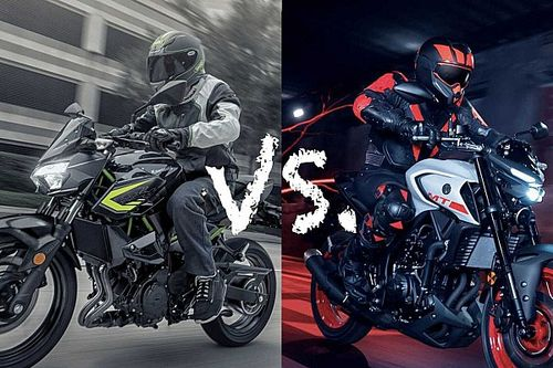 Spec Showdown: Yamaha MT-03 Vs. Kawasaki Z400