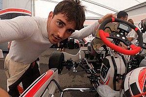 Így gokartozik az F1 egyik legjobb versenyzője, Charles Leclerc (onboard videók)