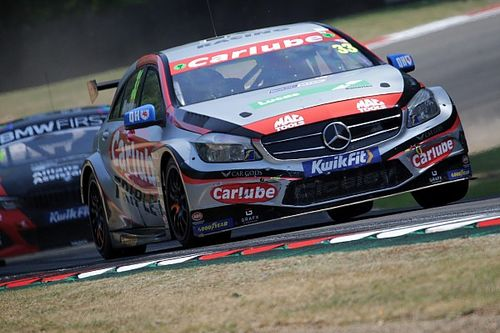 Oulton Park BTCC: Morgan's Mercedes wins red-flagged R3