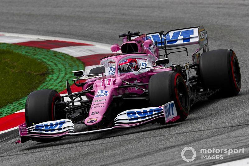 """Juste derrière les Mercedes, Pérez refuse de """"trop s'enthousiasmer"""""""