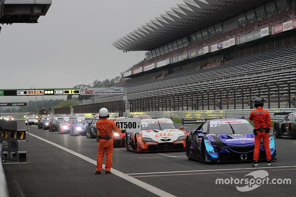 Unorthodox schedule for Fuji Super GT opener
