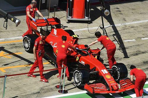 Leclerc liczy na poprawki Ferrari