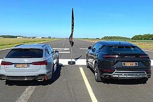 Gyorsulási verseny: Audi RS6 Avant vs. Lamborghini Urus (videó)
