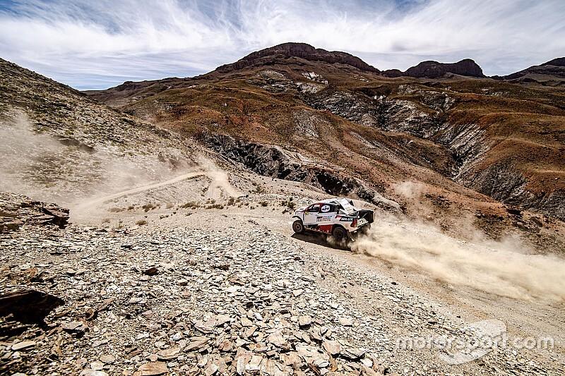 Alonso abandona la tercera etapa de Marruecos tras un accidente