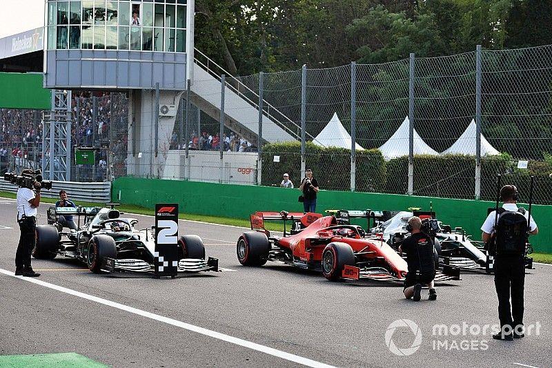 Así fueron las radios del esperpento de la Q3 en Monza