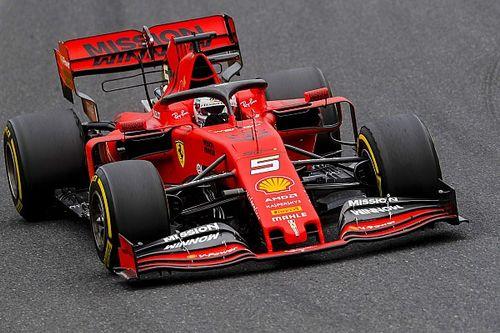 F1日本GP予選速報:ベッテル、レコード更新のPP獲得! フェルスタッペン5番手