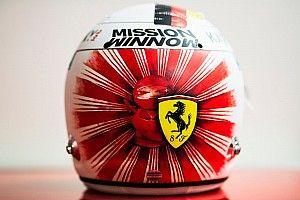 Fotos: Vettel añade otro más a su colección de cascos especiales en Japón
