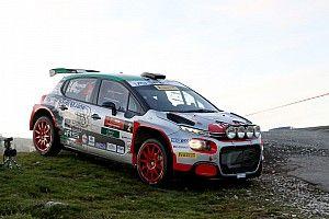 Rally 2 Valli difficile per Luca Rossetti e Citroen