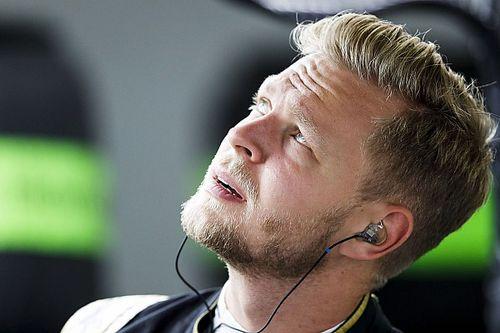 Magnussen nie czuł presji ojca