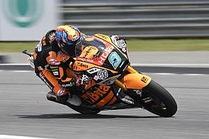 Navarro se lleva en Valencia la última pole de 2019 en Moto2