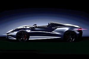McLaren Speedster, teaser prima del debutto a Pebble Beach