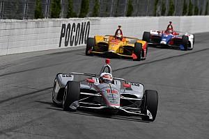 Гонка IndyCar в Поконо началась с завала на старте и завершилась первой в сезоне победой Пауэра