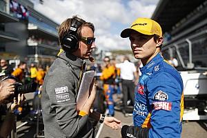 Norrist semmi sem lepte meg első F1-es évében