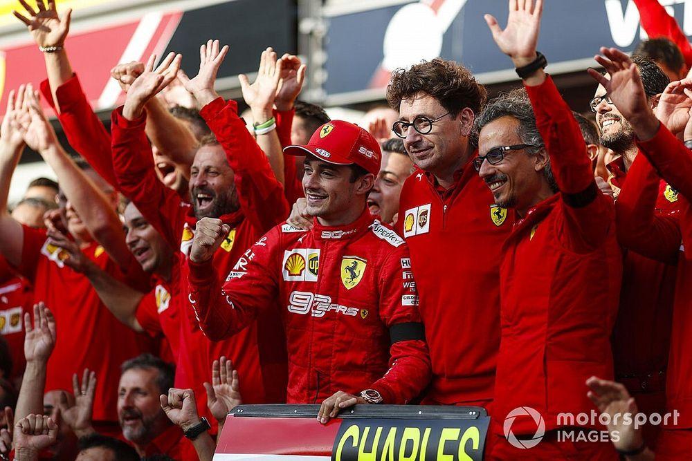 Binotto resta importancia a su primera victoria como jefe de Ferrari