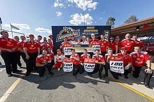 Ipswich Supercars: McLaughlin takes 100th team pole