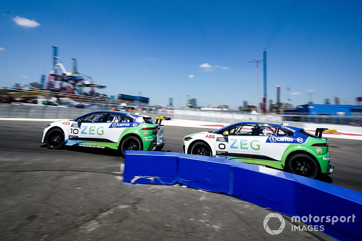Jaguar: Cacá é pole na prova final em Berlim; na disputa pelo título, Evans é 2º e Jimenez 3º