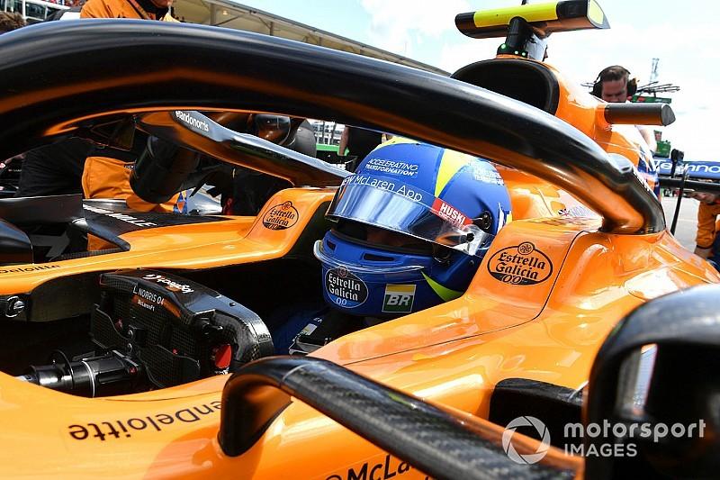 McLaren a kulisszák mögött Monzában: videó