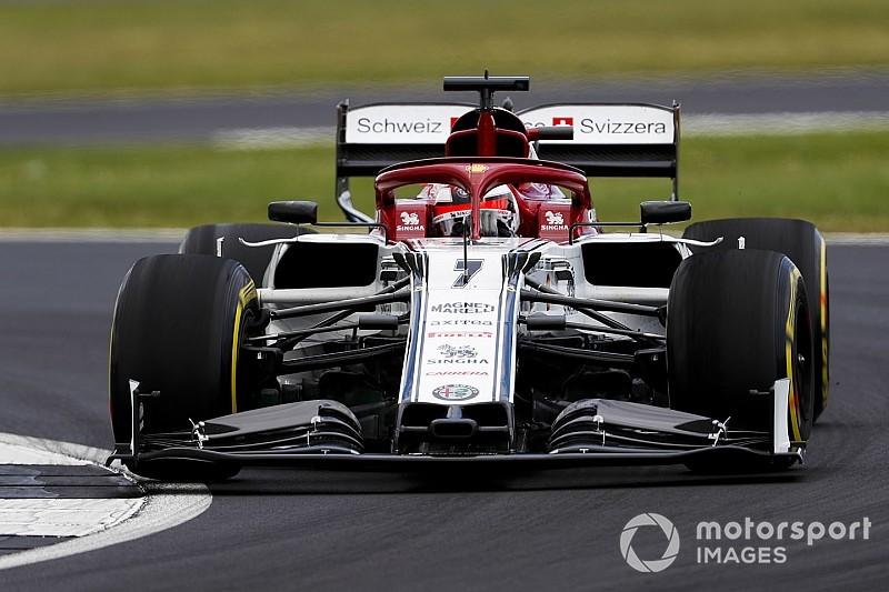 Raikkonen: Alfa Romeo için zor bir hafta sonu oluyor