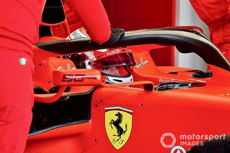 Ferrari: Leclerc a Monza per il filming day con la SF90
