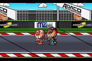 El resumen de la carrera de Misano, por MiniBikers (cameo incluido)