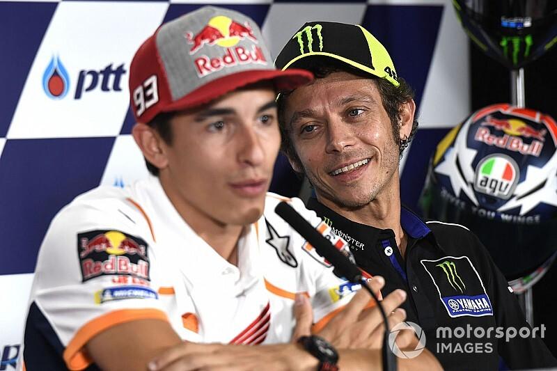 """Rossi: """"Márquez me alcanzará, pero a mí me quitaron un título"""""""