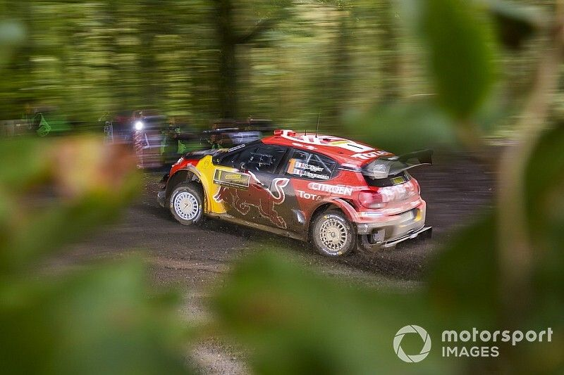WRC, Rally Galles, PS6: Ogier al top. Lappi K.O!