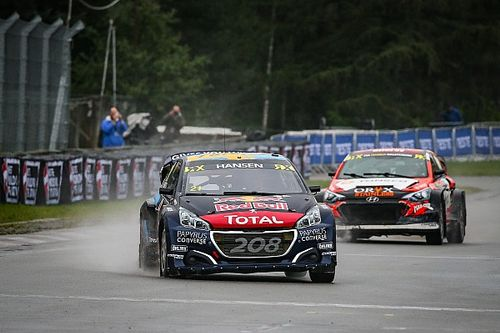 Latvia World RX: Hansen recovers to retake points lead
