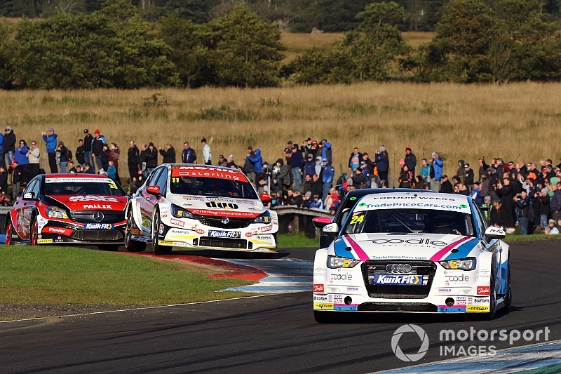 Knockhill BTCC: Hill wins Race 3, disaster for Jordan