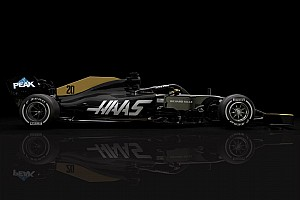Haas reveals updated livery after Rich Energy split
