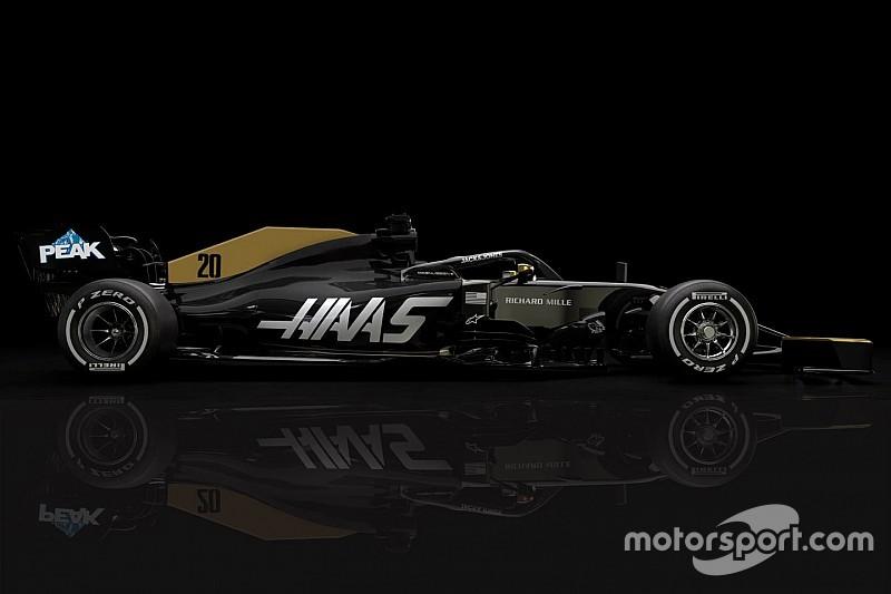 Haas dévoile sa livrée sans Rich Energy