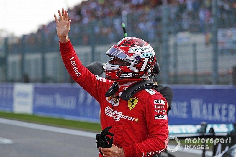 Leclerc overtuigend naar pole in Spa, vijfde startplek Verstappen