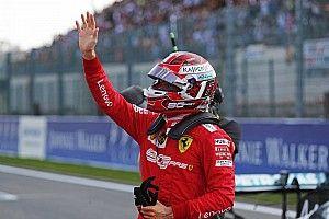 Belgian GP: Leclerc beats Vettel to pole by 0.7s