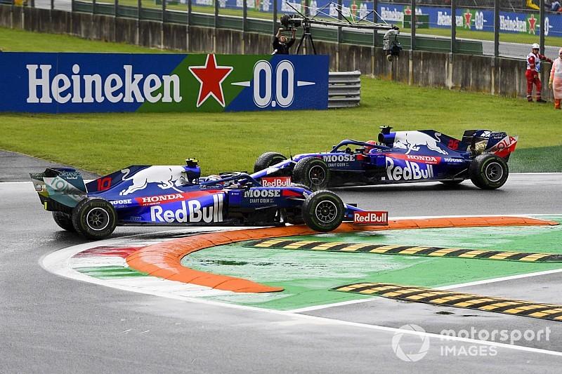 """VÍDEO: chuva faz pilotos """"sambarem"""" no TL1 em Monza; veja todas as rodadas"""