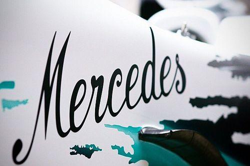 Mercedes pamer teaser livery spesial GP Jerman