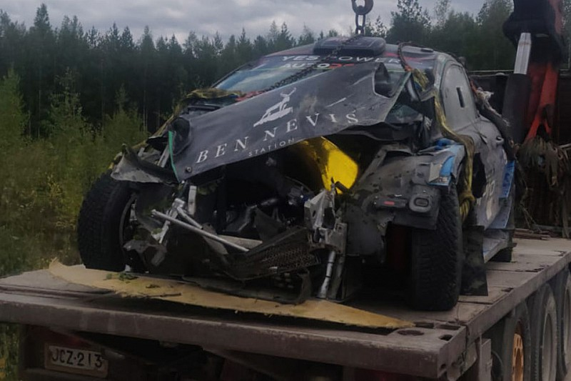Paddon working on new WRC chance after Finland crash