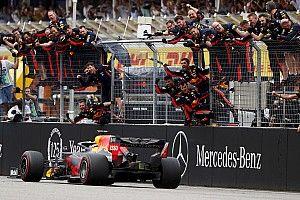 La carrera de F1 más loca en años elige a Verstappen