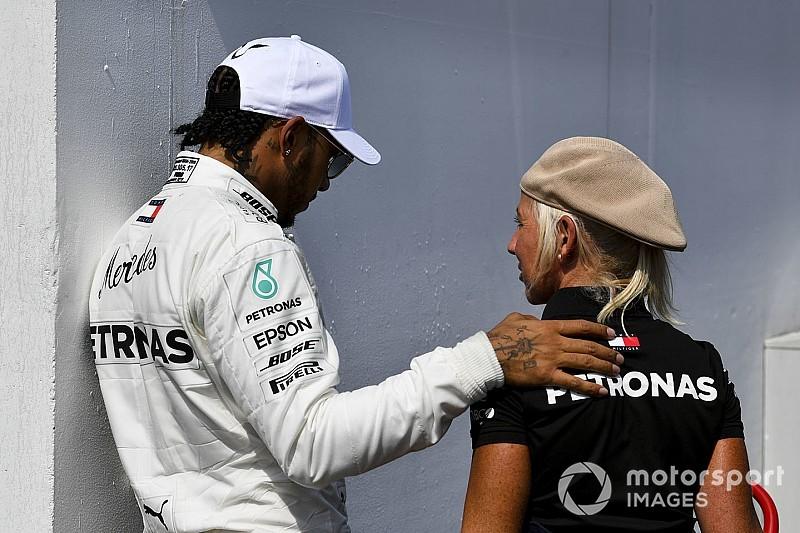 """F1: """"Não vou mentir, isso dói"""", diz Hamilton após GP da Alemanha"""