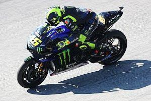 Rossi kan leven met vierde plaats in Oostenrijk
