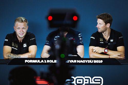 Haas admite que podría reemplazar a Grosjean