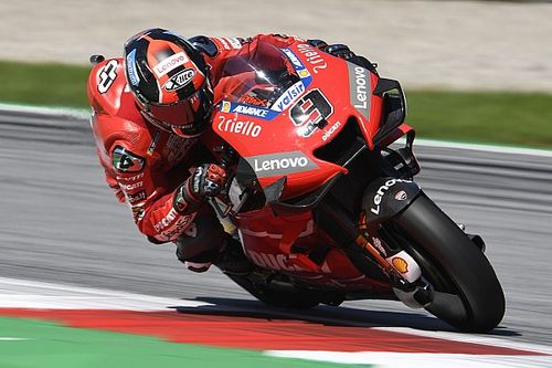 LIVE MotoGP, GP d'Austria: Warm-Up