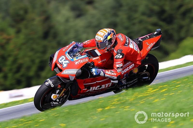 MotoGP: Dovizioso supera Márquez no primeiro treino na Áustria