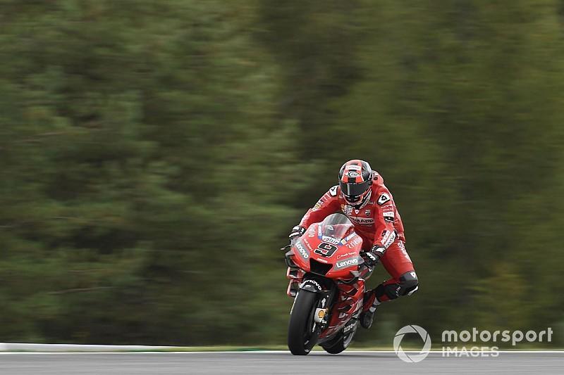 Le choix de pneus pour la course, un casse-tête pour les pilotes Ducati