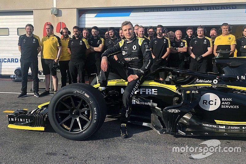Pirelli completa primeiro teste de pneus de 18 polegadas da F1
