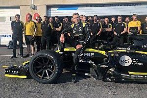 Pirelli completa el primer test con los neumáticos de 18 pulgadas